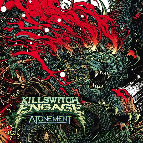 KILLSWITCH ENGAGE Disarm the Descent FLAG CLOTH POSTER WALL TAPESTRY CD Metalcor